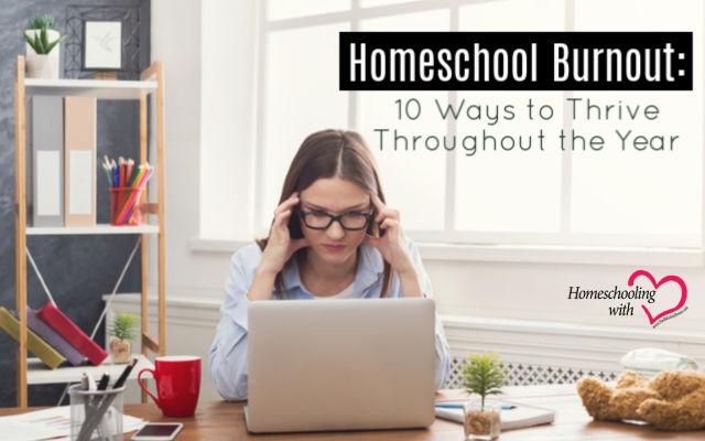 homeschool burnout