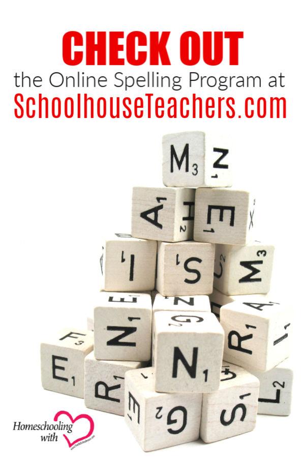 Check Out the Online Spelling Program at SchoolhouseTeachers.com