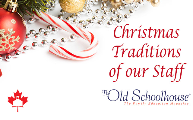 Christmas Traditions of Our Staff