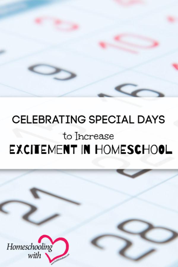 excitement in homeschool