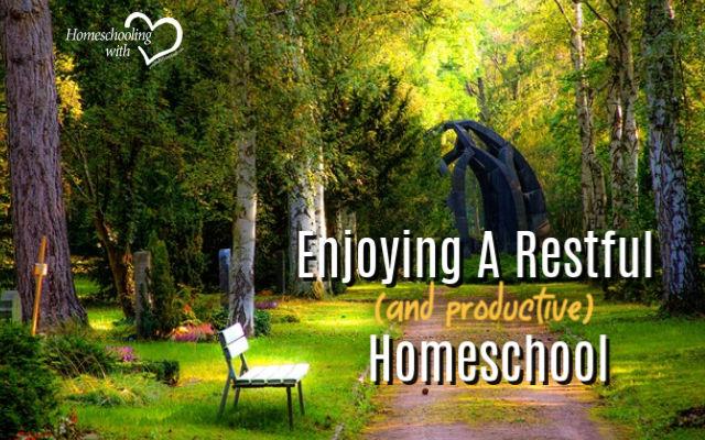 productive homeschool