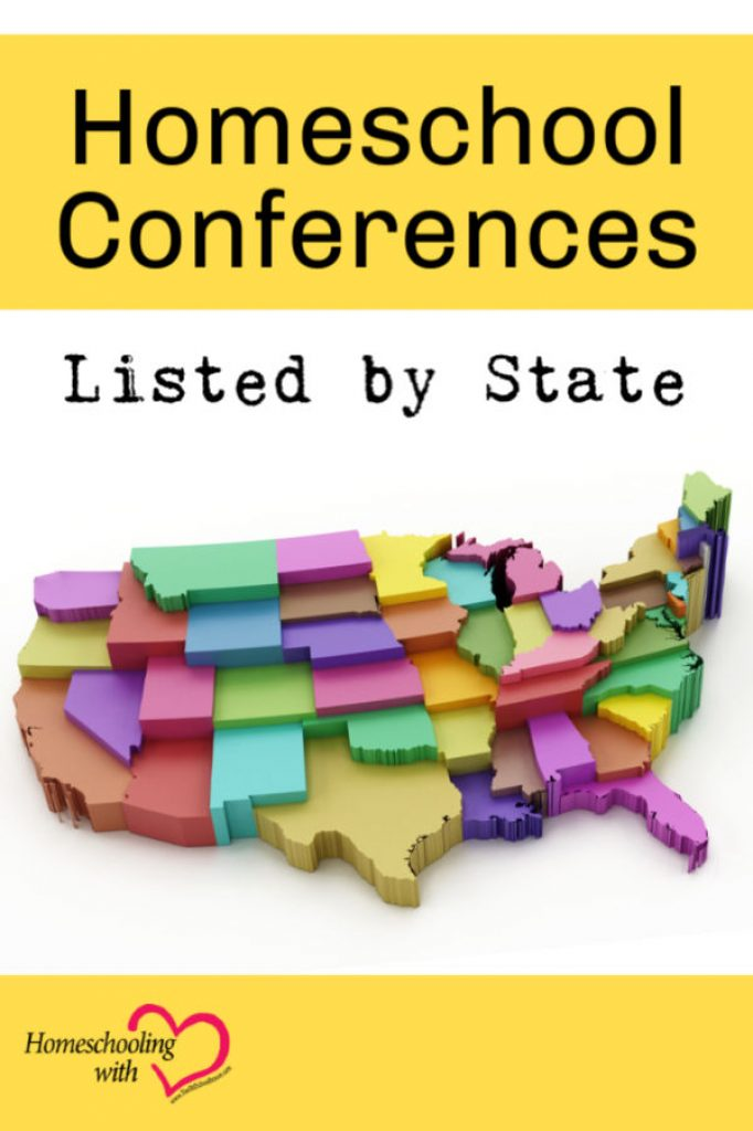 2020 Homeschool Conferences Listed by State