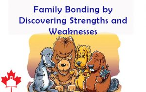 Family Bonding by Discovering Strengths and Weaknesses [Incredible creatures praying image]