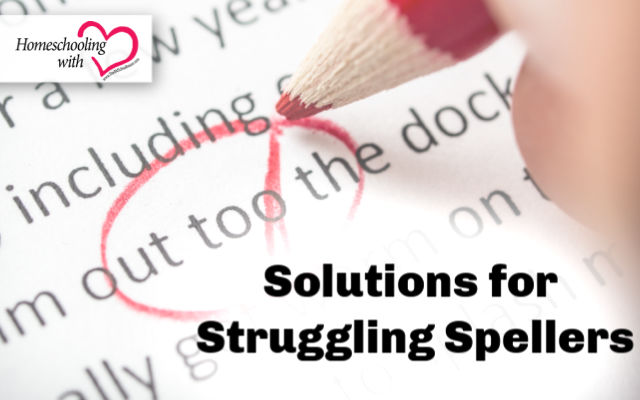 struggling spellers