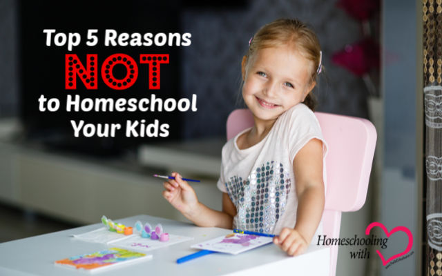 reasons not to homeschool
