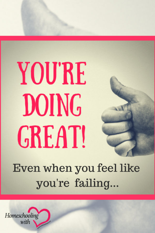 feel like you're failing