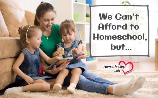 afford to homeschool