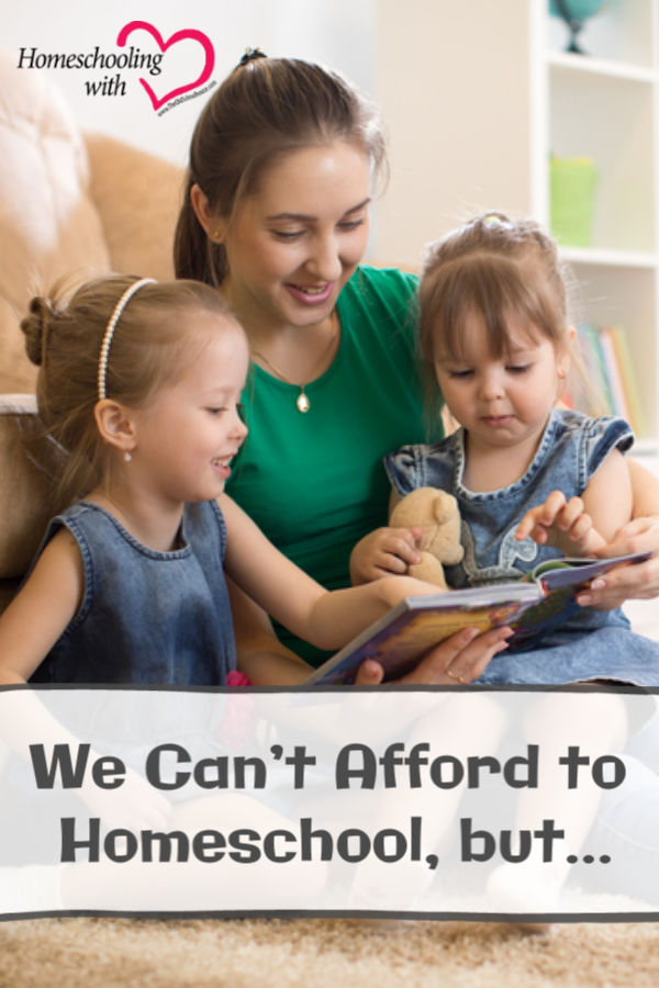 afford to homeschool