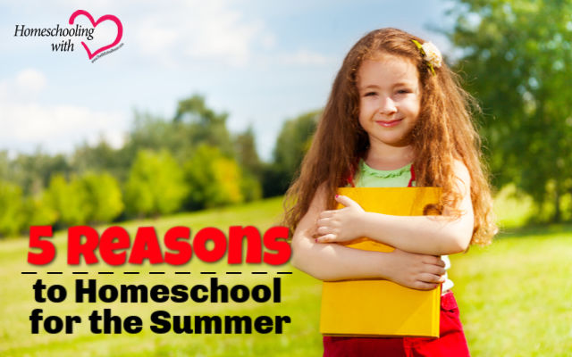 homeschool for the summer