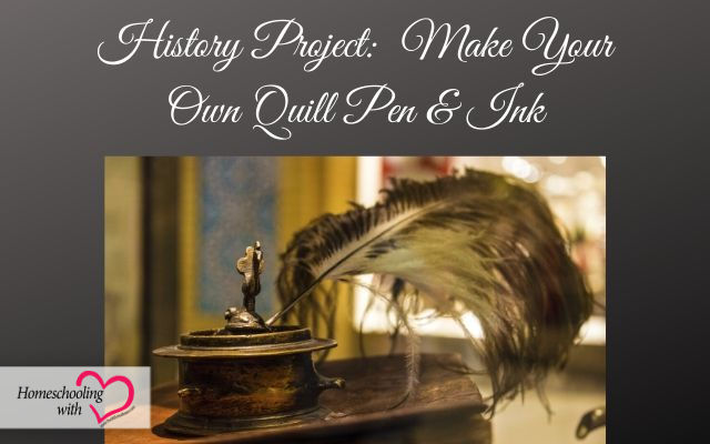 make your own quill pen