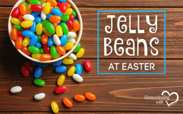 jelly beans at easter