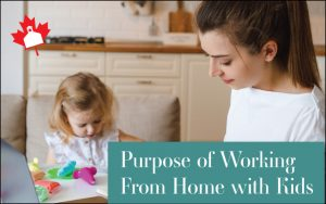 Homeschooling and working from home with kids