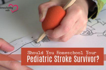 pediatric stroke survivor