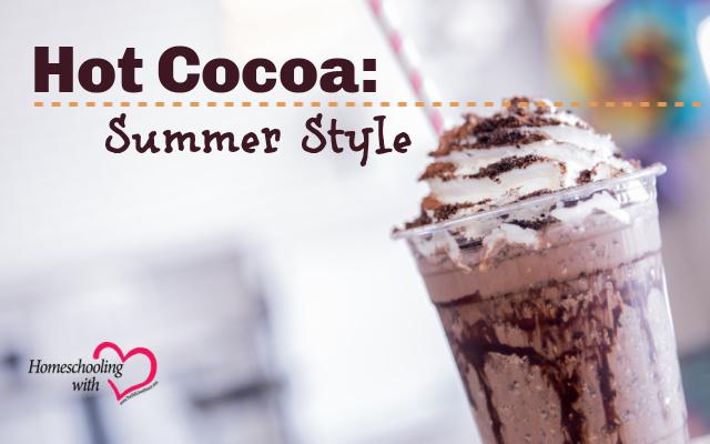 hot cocoa summer