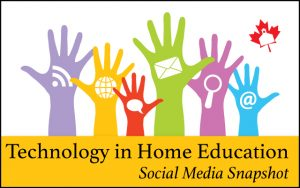 Technology in Home Education from Social Media
