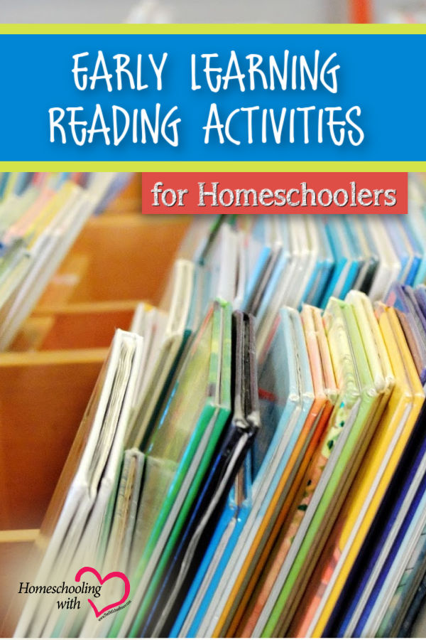 early learning reading activities