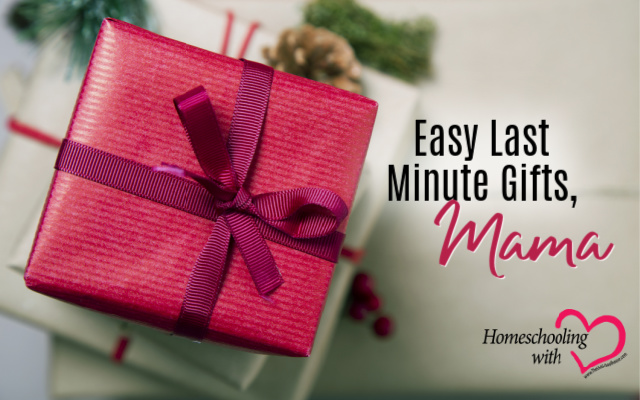 easy last minute gifts
