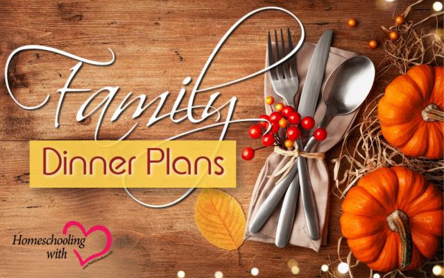 family dinner plans