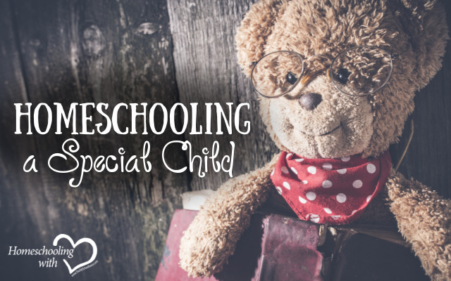 homeschooling a special child