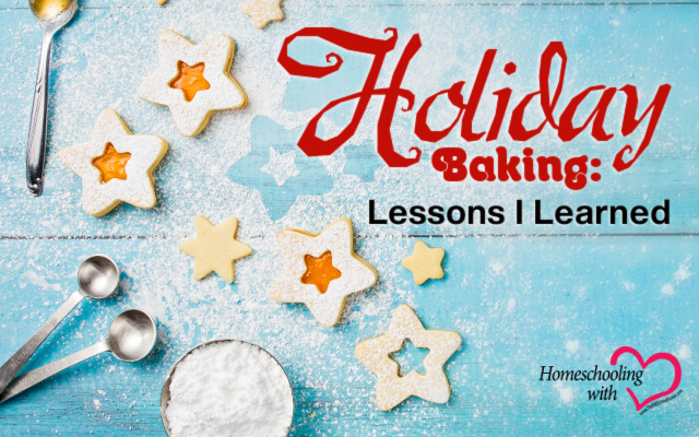 holiday baking lessons