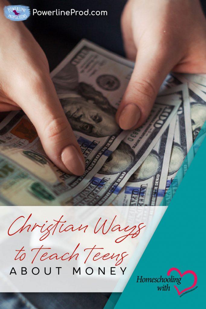 teach teens about money