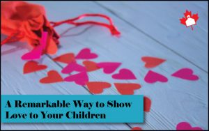cutout hearts (from parents to kids)