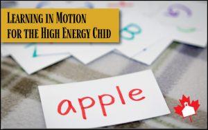 high energy child