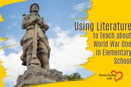 teach about world war one in elementary school