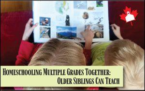 homeschooling multiple grades together
