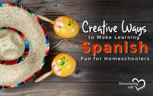 learning spanish fun for homeschoolers