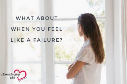 feel like a failure