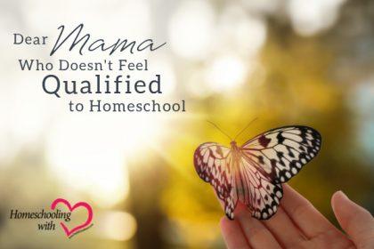qualified to homeschool