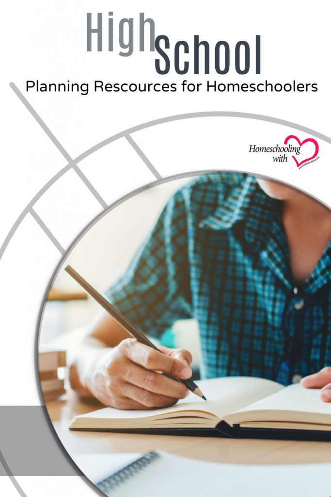 High School Planning Resources For Homeschoolers
