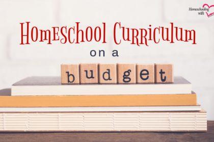 homeschool curriculum on a budget