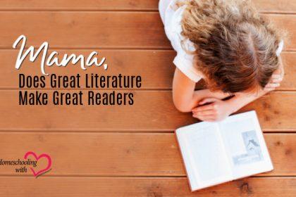 make great readers