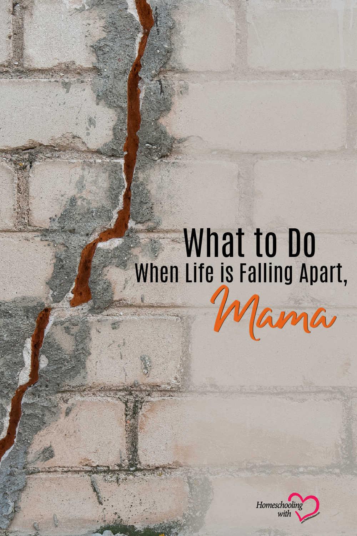 life is falling apart