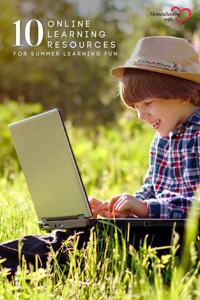 10 Online Learning Resources for Summer Learning Fun