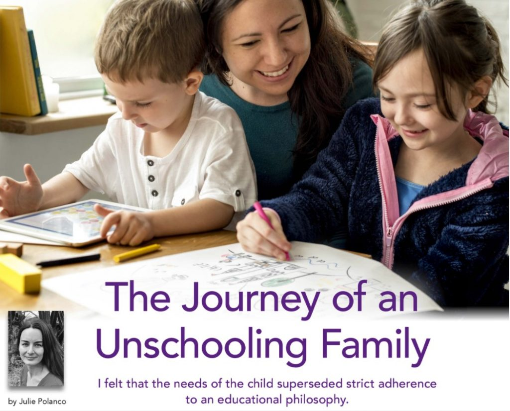 The Journey of an Unschooling Family
