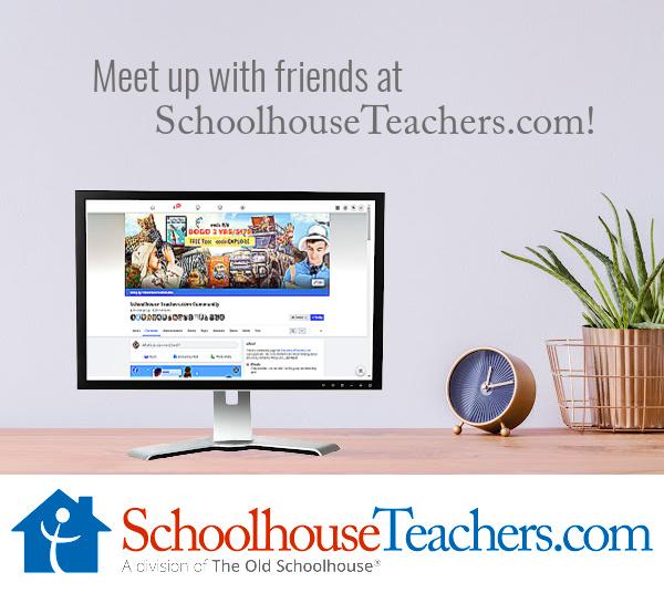 Meet up with friends at SchoolhouseTeachers.com!