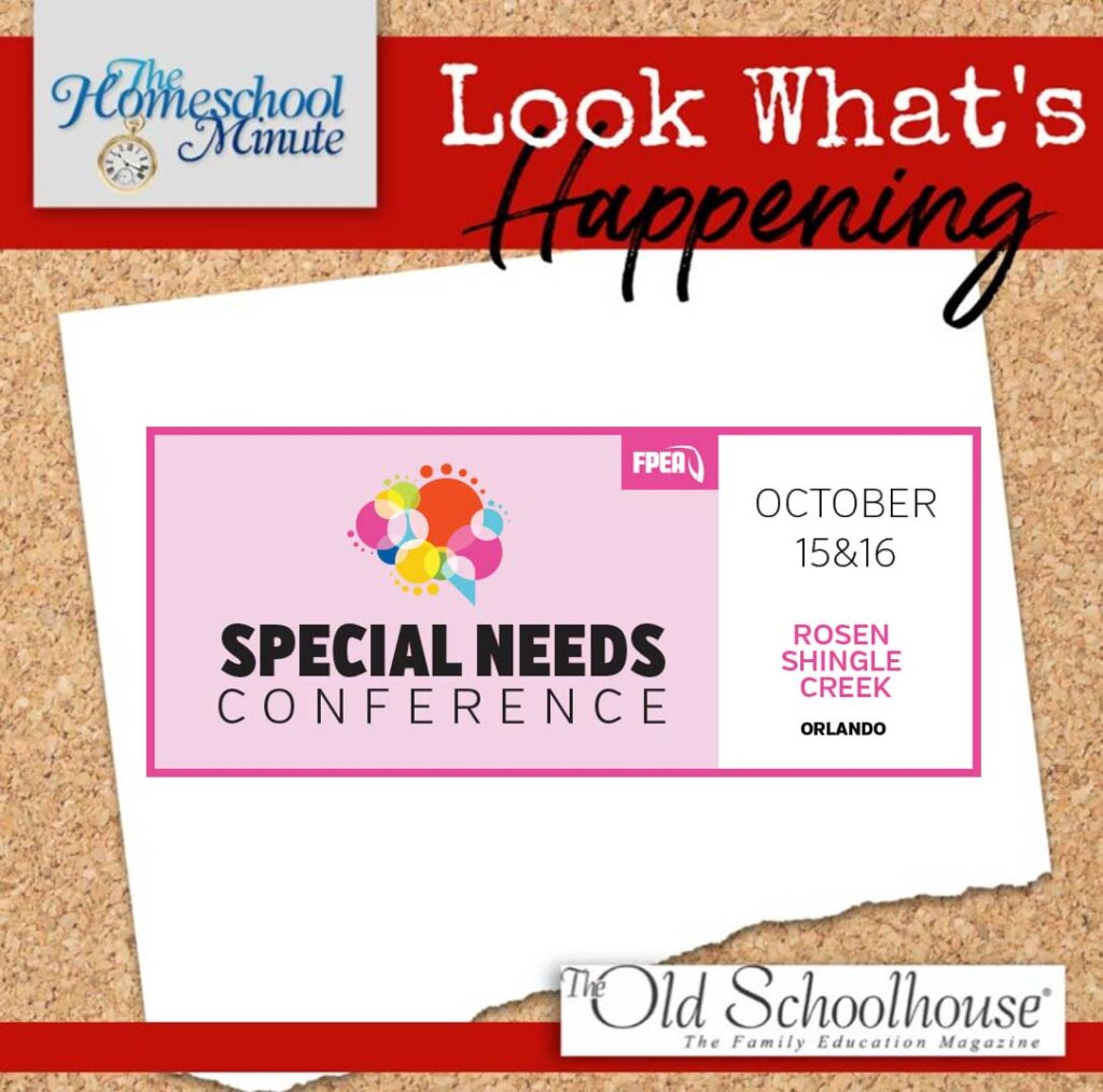 October 15 & 16 Special Needs Conference at Rosen Shingle Creek in Orlando